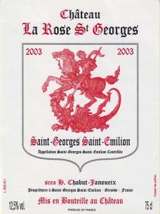 Château La Rose Saint-Georges