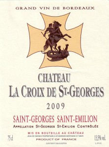 Château La Croix Saint-Georges